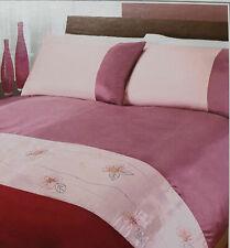 Super King Size Duvet Set Orchid Pink CLEARANCE