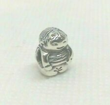 Authentic Retired PANDORA Sterling Silver Charm BOY #790360