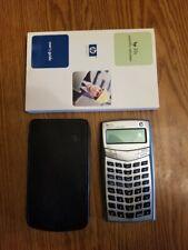 Hewlett Packard Hp 33s Scientific Calculator with Manual & Case - Works
