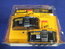 DEWALT DC9096-2 18V XRP BATTERY COMBO PACK NEW