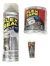 FLEX SEAL Family Value 3 Item Pack, Flex Clear, Tape Clear & Flex Glue Clear