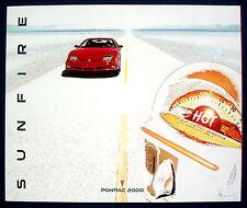 PROSPEKT BROCHURE 2000 Pontiac Sunfire (USA)