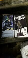 2018-19 WAYNE GRETZKY LUC ROBITAILLE BOB MILLER MINI STATUE SET OF 3 KINGS SGA
