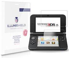 iLLumiShield HD Screen Protector w Anti-Bubble/Print 3x for Nintendo 3DS XL
