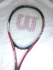 Wilson Impact Titanium Tennis Racket Racquet Volcanic Frame L2 4-1/4 w cover