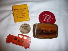 VTG. Lot  Advertising LANCASTER, PA~ E-TOWN~Brass Buckle~Coin Purse~Colonial Inn