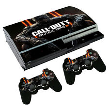 Custom Skin Sticker Set for PS3 Playstation 3 Fat Console Controller Call O Duty