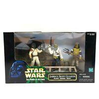 Hasbro Star Wars Power Of The Force Jabba's Skiff Guards Klaatu Barada Nikto