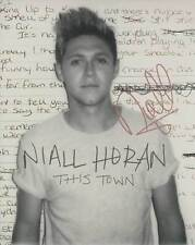 Niall Horan In-Person AUTHENTIC Autographed Photo COA SHA #99830