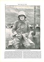 WWI Portrait Prisonniers Feldgrau Deutsches Heer Bataille de Verdun ILLUSTRATION