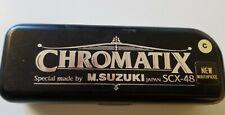 Suzuki SCX48 Chromatix Series Harmonica Key of C - 12 Hole Chromatic