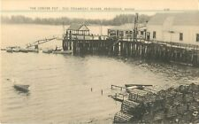 c1930s The Lobster Pot - Old Steamboat Wharf, Friendship, Maine Postcard