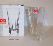 RCR Royal Crystal Rock Fusion Hi Ball, Tall Drink Glasses 4 Lead Crystal, new