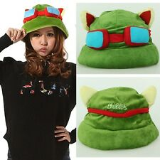 Brand-New HOT~! Cosplay Fashion Army Green League of Legends LOL Teemo Game Hat