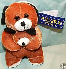 Kellytoy Original Dog with Baby Plush with Gift Tag!