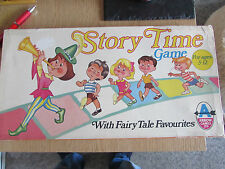 1970's ARROW GAMES LTD STORY TIME BOARD GAME FAIRY TALE FAVOURITES 100% COMPLETE