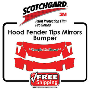 Kits for Audi - 3M 948 SGH6 PRO SERIES Scotchgard Paint Protection - Hood Bumper