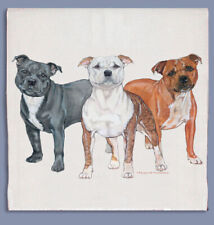 Staffordshire Bull Terrier Dish Towel