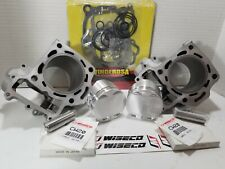 Wiseco Piston+Gaskets Brute Force 650 05-10  .040//81mm//11:1 Top End Rebuild Kit