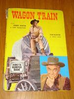 WAGON TRAIL A BIG TV BUMPER BOOK BRITISH WESTERN ANNUAL 1962 <
