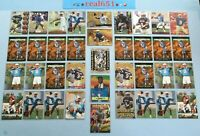 1995+ STEVE McNAIR Rookie-SP-Base Lot x 56 Refractor Premier Electric Gold RIP