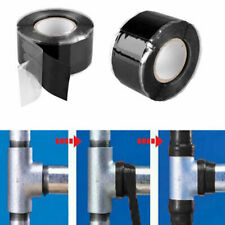 New Self-Adhesive Repairs Waterproof Tape Rubber Bonding Self Fusing Wire Black
