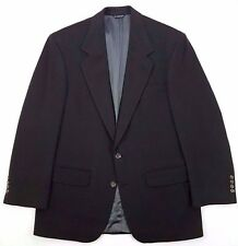 Mens CASHMERE Blazer 40R Green 2 BUTTON Lined PETERBOROUGH Row BLOOMINGDALES Sz*