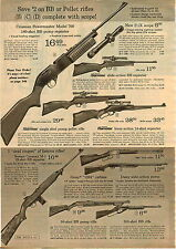 1967 ADVERT Dick Hart Judy Kimball Golf Clubs Daisy BB Gun Air Rifle M1 WW II
