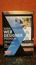 Magix Xara Web Designer Premium Version Sealed Software PC 12 Version