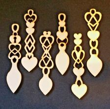130 Welsh Love Spoons, 3mm Laser Ply - Wedding Favours