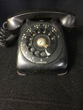 Vintage Antique Black Dial Telephone AUTOMATIC ELECTRIC Monophone UNTESTED