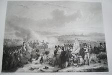 NAPOLEON BATAILLE DE RAAB HONGRIE GRAVURE 1838 VERSAILLES R1164 IN FOLIO