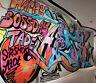 3D Cool graffiti street WallPaper Murals Wall Print Decal Wall Deco AJ WALLPAPER