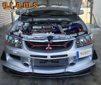 Mitsubishi Lancer Evo 7, 8, 9 Front Bumper Splitter lip for Performance v8