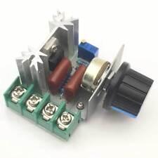 2000W 220V Spannungsregler SCR Dimmen Drehzahlregelung Thermostat Motor PAL