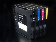 4 x GC-41 Sublimation Ink Cartridges for Ricoh Aficio SG3110DN SG3100DNW SG3100