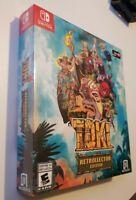 Toki Retrollector Edition Nintendo Switch NEW NIB Complete Arcade CIB Game Rare