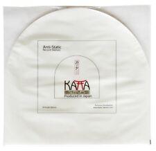 "100 pcs LP/12"" Record ORIGINAL Plastic JAPAN KATTA INNER SLEEVES - FREE SHIPPING"