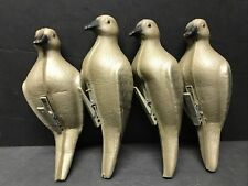 4 Dove Decoys-Used-Great Condition-Soft Foam Clip On