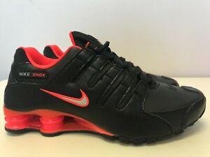 Mens Size 8 Nike Shox NZ Crimson Orange Red 378341-006 SKU AA
