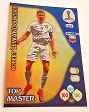 Panini ADRENALYN XL WORLD CUP 2018 Russia WM TOP MASTER ROBERT LEWANDOWSKI neu