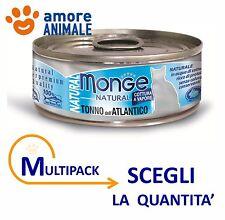 MULTIPACK Monge Cat NATURAL - Tonno dell'Atlantico 80 grammi - per gatti