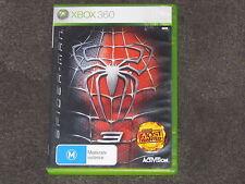 Spiderman 3 Xbox 360 CHEAP FAST & FREE POST PAL RARE (no manual)