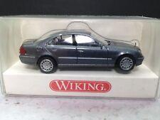 HO 1/87 Wiking WI-219 03  Mercedes Benz E Class - Blue Metallic