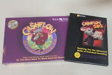 BRAND NEW RICH DAD POOR DAD CLASSIC CASHFLOW 101 & 202 BOARD GAME WITH 5 CDs