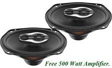 NEW Hertz SPL Show SX 690 NEO SPL Show Series 6x9 3-way speakers Free AMP!! LOUD