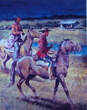 Robert Addison Canadian Mountie IndianRCMP print