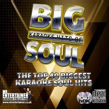 Karaoke CDG - The Big Hits Of Soul & Motown- Double CD+G Discs 40 Tracks