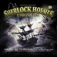 SHERLOCK HOLMES CHRONICLES 20 - DER FALL DER GLORIA SCOTT CD NEU