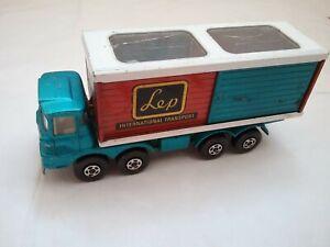 Matchbox SuperKings K-14 Scammell Freight Liner LEP International Transport